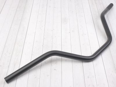 Руль для питбайка алюминиевый 7/8 (22,2 мм) 740 x 180 мм CN черный фото 1
