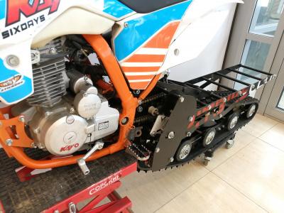 Мотоцикл кроссовый/сноубайк KAYO K1 250 2018 г. фото 5
