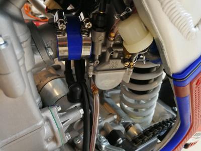 Кроссовый мотоцикл BSE M2 250e 21/18 фото 15