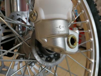 Кроссовый мотоцикл BSE Z5 250e 21/18 172FMM фото 17