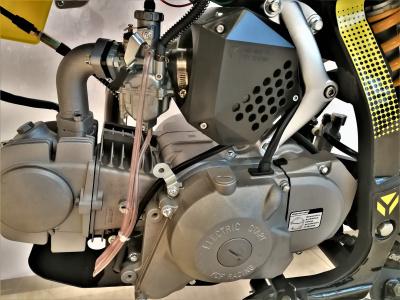 Питбайк YCF BIGY 125MXE-KL1 (эл.стартер, фара) 17/14 ,125cc, 2019г. фото 9