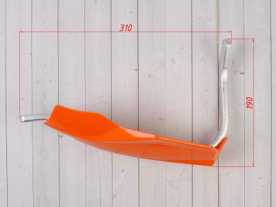 Защита рук (пара) HP24 оранжевая армированная SM-PARTS фото 3