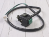 Кнопка вкл/выкл двигателя квадратная зеленая превью 1