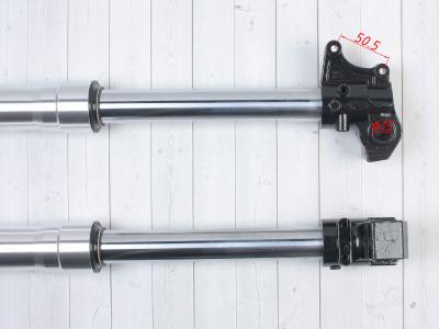 Амортизаторы передние (перья вилки) BSE PH10 780mm 45/48мм  фото 5