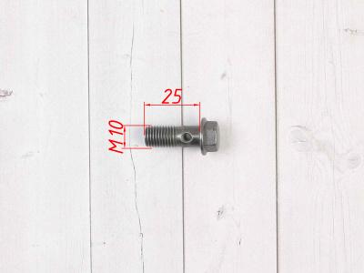 Болт банжо фитинга 10х1,25 фото 3