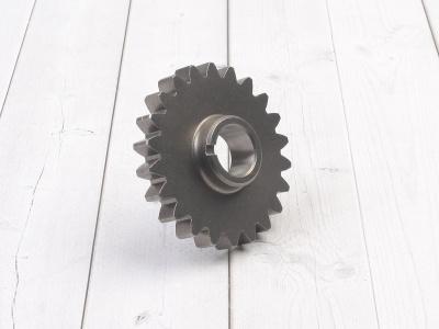 Шестерня вторичного вала КПП YX 125/140/150/160 фото 1