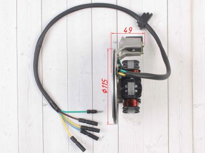 Плата генератора в сборе YX125-140 фото 5