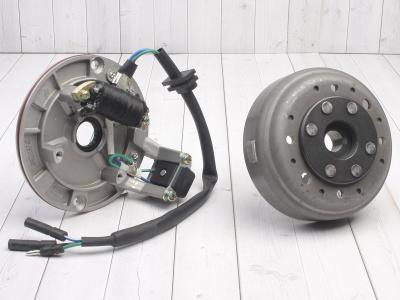 Генератор в сборе двиг. YX125-160 см3 (1 катушка) SM-PARTS фото 1