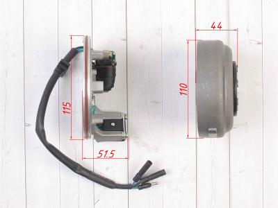 Генератор в сборе двиг. YX125-160 см3 (1 катушка) SM-PARTS фото 5