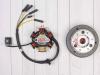 Генератор в сборе KAYO двиг. YX140Е см3 (эл.стартер) CN превью 3