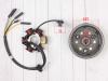 Генератор в сборе KAYO двиг. YX140Е см3 (эл.стартер) CN превью 7