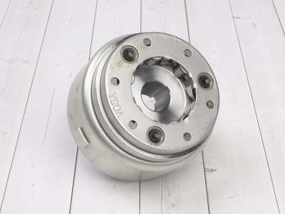 Ротор генератора двиг. YX150 см3 (WD150) эл. стартер фото 1