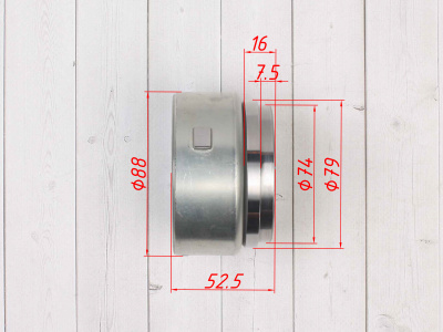 Ротор генератора двиг. YX150 см3 (WD150) эл. стартер фото 5