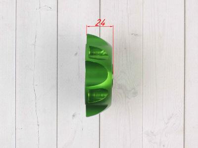 Крышка топливного бака алюминиевая d-48,5 мм зеленая фото 5