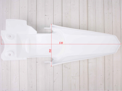 Крыло заднее TTR белое фото 9