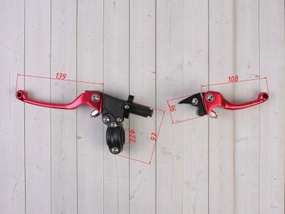 Комплект рычагов ASV красные фото 3