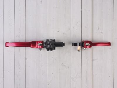 Комплект рычагов ASV красные фото 5