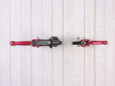 Комплект рычагов ASV красные фото 9