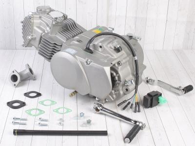 Двигатель YX 150см3  в сборе, кикстартер 1P60FMJ (W150-2) фото 1