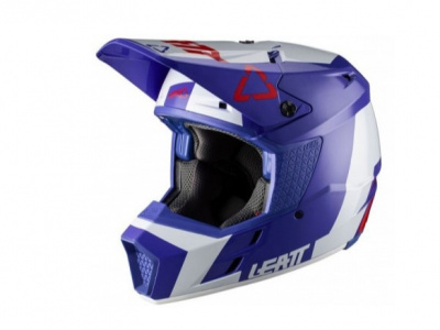 Мотошлем Leatt GPX 3.5 Helmet Royal M 57-58cm (1020001242) фото 1