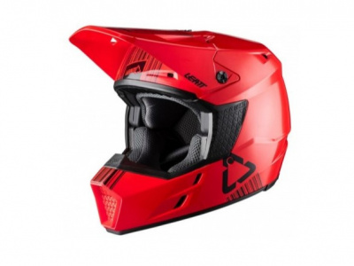 Мотошлем Leatt GPX 3.5 Helmet Red L 59-60cm (1020001203) фото 1