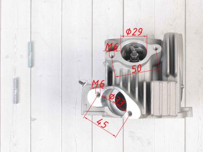 Головка блока цилиндра YX140cc(150cc) 2V в сборе фото 11