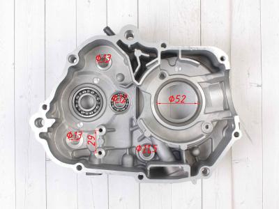 Картер двигателя левый 153FMI/154FMI 125 см3 (кикстартер)   фото 5