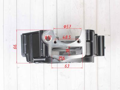 Картер двигателя левый 153FMI/154FMI 125 см3 (кикстартер)   фото 9