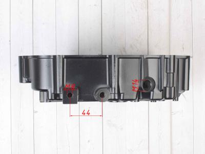Картер двигателя левый 153FMI/154FMI 125 см3 (кикстартер)   фото 11