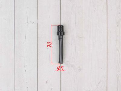 Бензоклапан черный CNC  фото 3