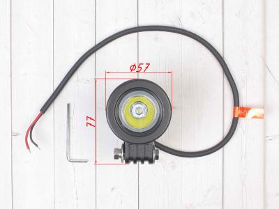 LED оптика Flint Light FL-2101/10W (FL-609) Дальний фото 5