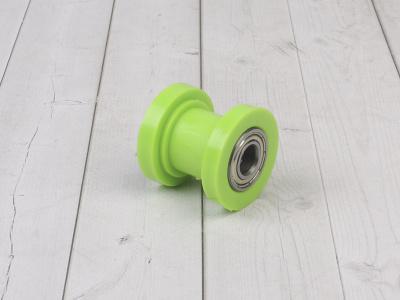 Ролик натяжитель зеленый М10 фото 1