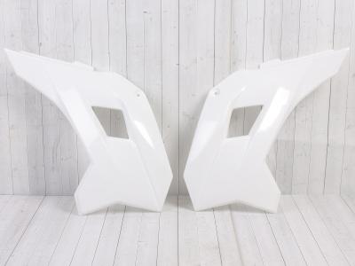 Боковые обтекатели передние (пара) KAYO KRZ белые фото 3