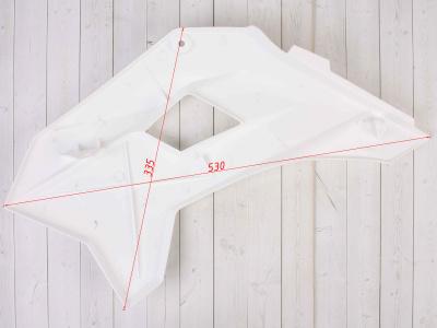 Боковые обтекатели передние (пара) KAYO KRZ белые фото 7