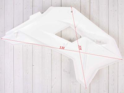 Боковые обтекатели передние (пара) KAYO KRZ белые фото 11