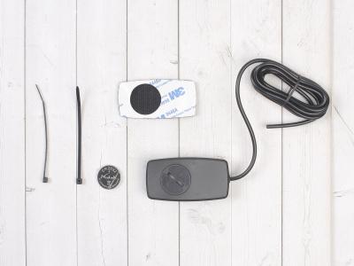 Счетчик моточасов/тахометр (подсветка, смен. батарея) SM-PARTS SMP-032R черный фото 7