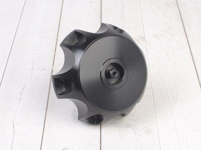 Крышка топливного бака алюминиевая d-48,5 мм черная фото 1