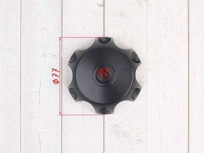 Крышка топливного бака алюминиевая d-48,5 мм черная фото 3