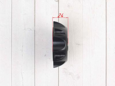 Крышка топливного бака алюминиевая d-48,5 мм черная фото 5