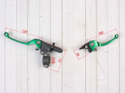 Комплект рычагов ASV зеленые фото 3