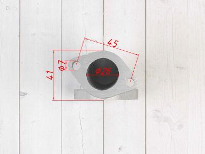 Впускной коллектор YX прямой ZL 32-3 фото 11