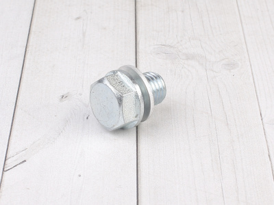 Болт сливной БЕЗ магнита фото 3