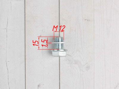 Болт сливной БЕЗ магнита фото 5