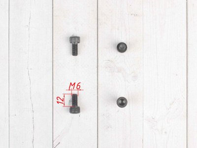 Болт имбус М6х12 4шт. фото 3