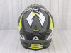 Шлем (мотард) Ataki JK802 Rampage Hi-Vis желтый/серый матовый  XL превью 11