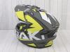 Шлем (мотард) Ataki JK802 Rampage Hi-Vis желтый/серый матовый  XL превью 13