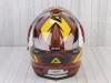 Шлем (мотард) Ataki JK802 Rampage коричневый/желтый глянцевый    S превью 11