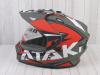 Шлем (мотард) Ataki JK802 Rampage красный/серый матовый    S превью 15