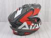 Шлем (мотард) Ataki JK802 Rampage красный/серый матовый  XL превью 9