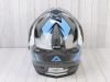 Шлем (мотард) Ataki JK802 Rampage серый/синий глянцевый    S превью 11